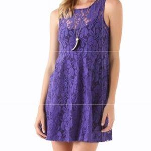 Free People Purple Emily Slip Dress